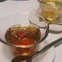 ゆる~くトロトロつるんでさっぱりなウーロン茶&ジャスミン茶ゼリー