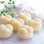 ミルキーでやさしい味わい♪あいりおーさんの見た目もかわいい「ミルクパン」
