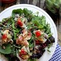 長芋と豚しゃぶの前菜