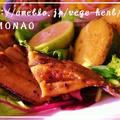 さんま竜田焼き☆柿なますプレート by MOMONAOさん