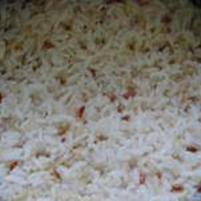 湯立てで白米(411)。。。沖縄・石垣島ひとめぼれ(最新米!)(こめいち)白米+千葉県ふさこがね(最新米)(こめいち)玄米。。。。炊き方の見直し64