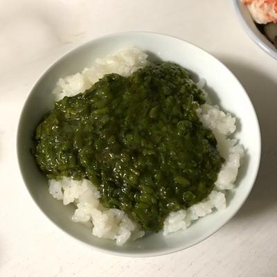 【ご飯のお供】刻みメカブで簡単めかぶご飯☆コストコでも売ってたよ〜