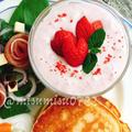 いちごとクリームチーズのデザートスープ by Misuzuさん