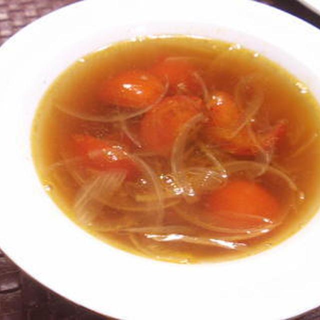 トマトと玉ねぎのスープ(レシピ付)