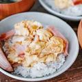 実はこう見えてこだわりあり!のっけるスタイルで楽ちん朝ごはん!我が家のスクランブルエッグ丼と夏休みおすすめ朝ごはん3選