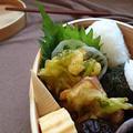 お弁当に~鮪とみつ葉のほっこりかき揚げ~ by YUKImamaさん