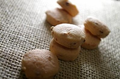 苺と小豆のプチクッキー