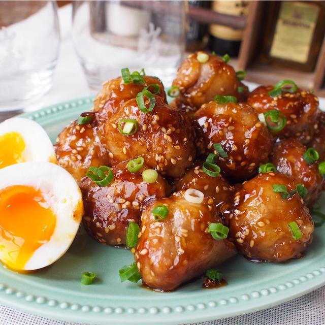 【レシピ】甘辛味がクセになる!豚こまボール!