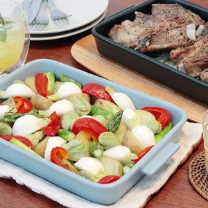 同時に食卓に出せる♪グリラーの2個使いでおもてなし料理を一気に完成!