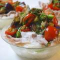 夏野菜と豚しゃぶの素麺 by KOICHIさん