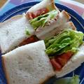 ツナ&レタス&トマトのサンドウィッチ~ハーブソルト風味