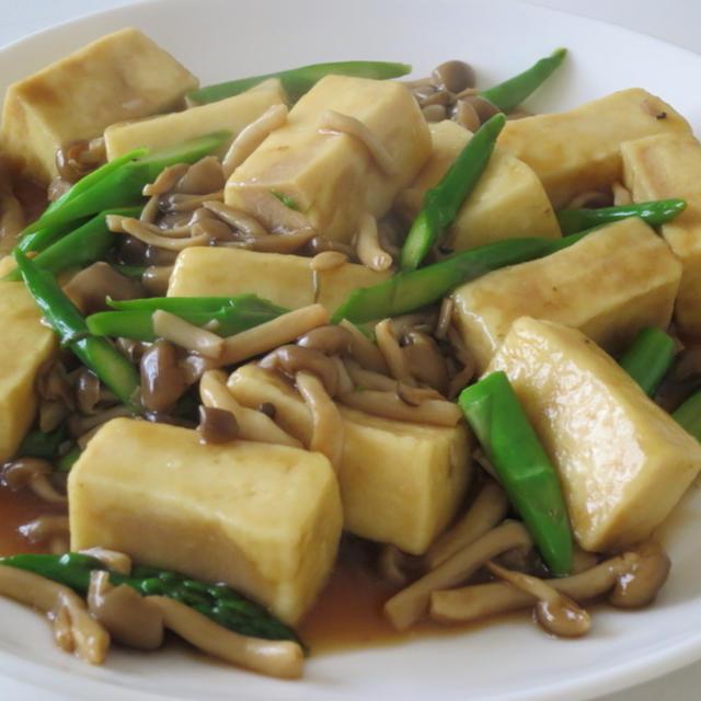 No.002 高野豆腐ときのこのうま煮