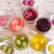 【実験的レシピ】いろいろな食材でカラフルな卵を作ってみた!