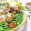 魚介のオーロラソース炒め