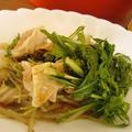 鶏肉・白菜・ミズナの蒸し鍋