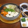土佐醤油で味わう キノコたっぷり湯豆腐 by KOICHIさん