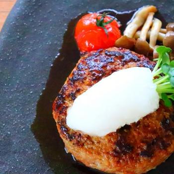 さっぱり♡和風おろしポン酢ハンバーグの作り方レシピ[料理動画]