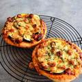 【パンレシピ&お知らせ】ズッキーニとかぼちゃのピザ*別冊ESSE掲載してました
