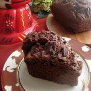 板チョコザクザクパウンドケーキ