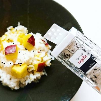 【サツマイモご飯×ニゲラソルト】