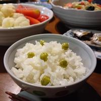 〈ヤマキだし部〉一年の集大成!わたしのベストおだし料理☆おだしタップリで炊く☆グリンピースご飯♪