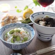彩りもきれい♪「枝豆の炊き込みごはん」レシピ5選