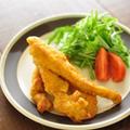 鶏むね肉で作る≪超ジューシー&サックサク~な、スティックカレーフライドチキン≫と昨日の晩ごはん