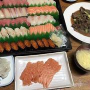 コストコ好き。寿司とプルコギ、美酢4種
