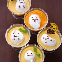 ★お菓子レシピ★ ハロウィンに♪ おばけちゃんのマンゴープリン リクエストレシピ(27)
