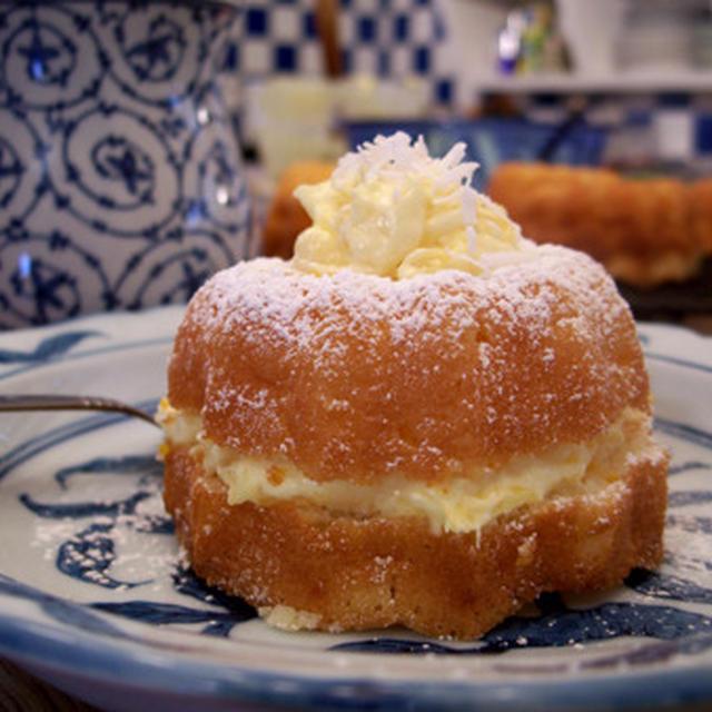 Mikan Sponge Cake みかんのスポンジ・ケーキ