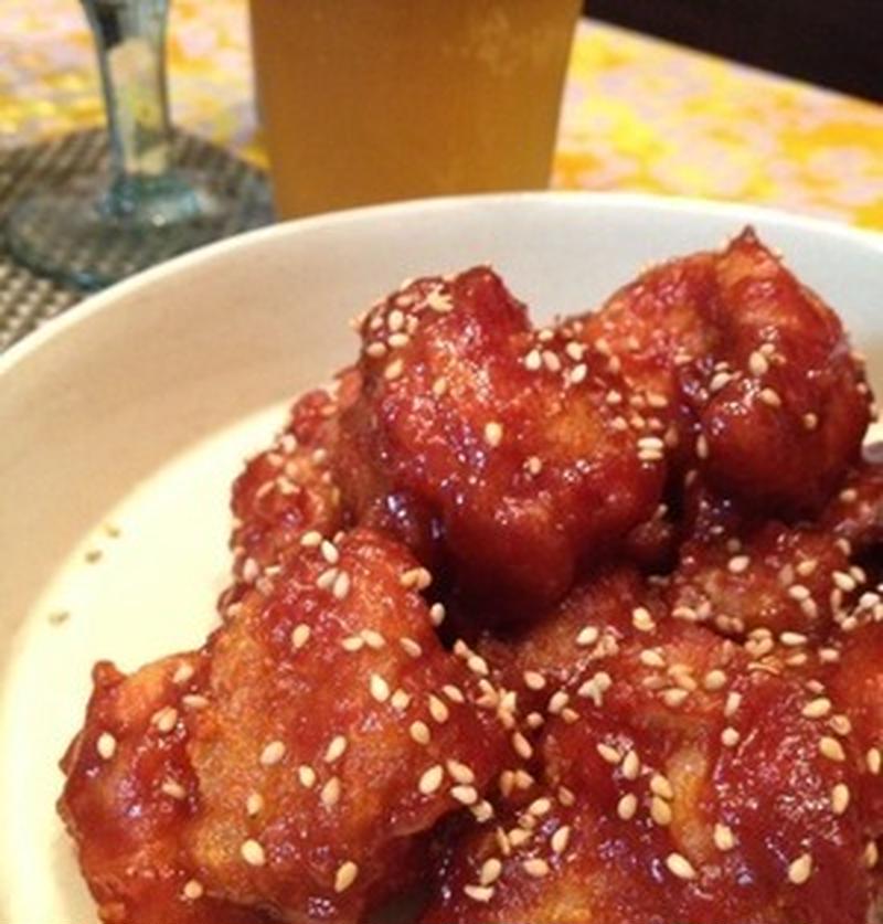 ご飯もビールも止まらない!?韓国風甘辛チキン「ヤンニョムチキン」を作ろう♪