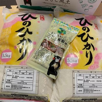 【ふるさと納税】熊本県玉東町 お米11kg +雑穀米
