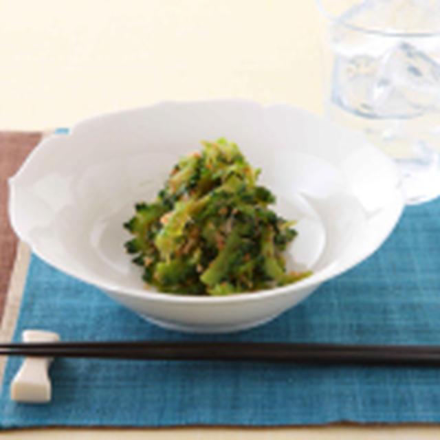 夏野菜を使った常備食三種