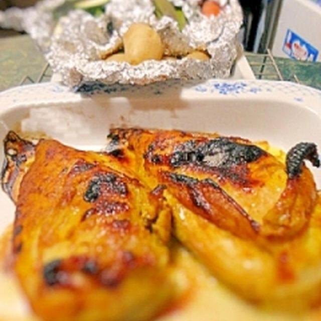 オーブン焼き塩麹タンドリーチキン