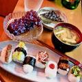 豆俵にぎりのセット ~ ひとくちで食べる7種類のお味♪ by mayumiたんさん