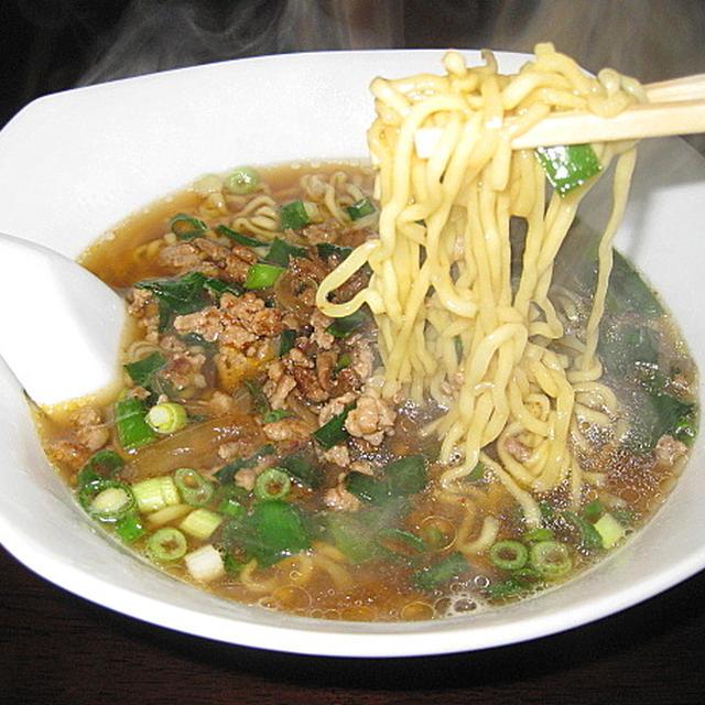 マルちゃん正麺で、「台湾ラーメン」