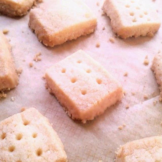 米粉100%のショートブレッド《小麦・卵アレルギーの方も楽しめるバタークッキー》