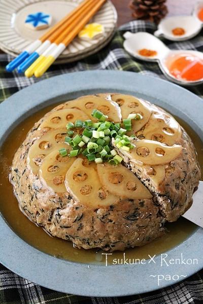 炊飯器でほったらかし♪栄養満点お豆腐とレンコンのBIGつくね!連載