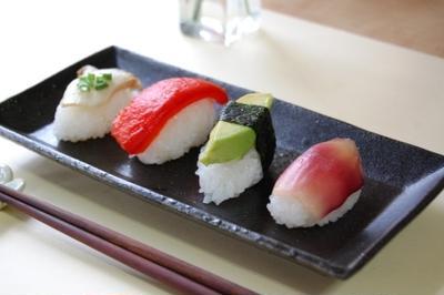 フェイク寿司(野菜だけの握り寿司)