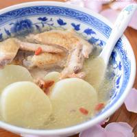 【薬膳料理】コラーゲンたっぷり♡鶏手羽先と大根のスープ 圧力鍋レシピ