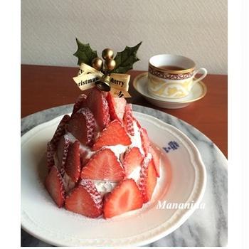 イチゴツリーのケーキ★