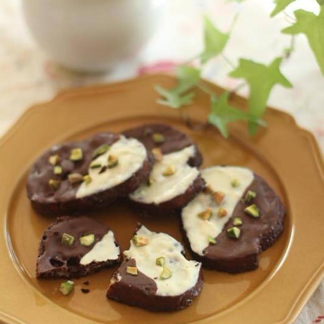 バレンタインギフトに チョコマニアのためのチョコレートラスク