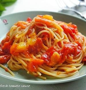 塩が決め手!おいしくないトマトが絶品トマトソースに生まれ変わるコツ