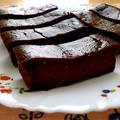 お豆腐チョコレートケーキ