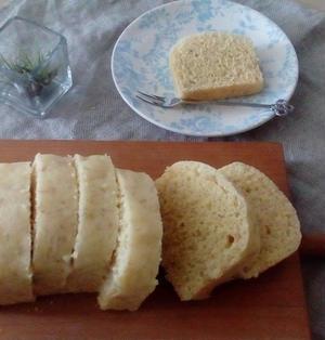 【乳製品砂糖なし】完熟バナナとオリーブオイルのふわふわしっとり蒸しパン