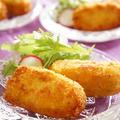 鶏チャーシューのクリームコロッケ【レシピ】