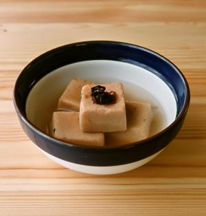 高野豆腐の梅含め煮