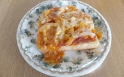 トースターバッグオリジナルでピザパン