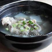 ~晩御飯~ コリゴムタン(韓国牛テールスープ風)とつくれぽ♪