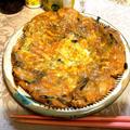 4/12 夜:豆腐チヂミ、豚のすき焼き風とじ